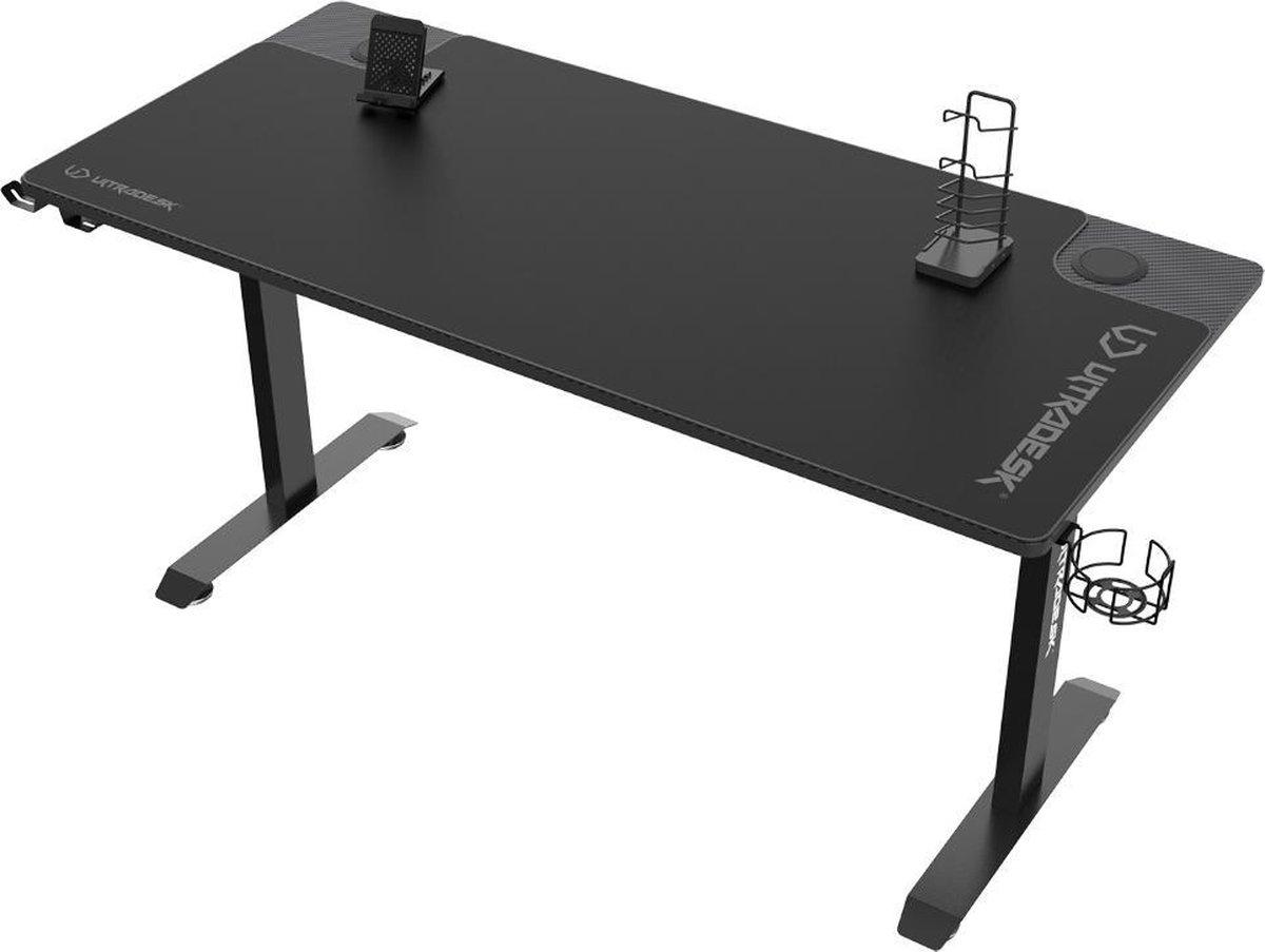 Maison's Game bureau - Bureautafel - Bureau - Gaming desk - Tafel - Zwart - 70x152.5x75.5