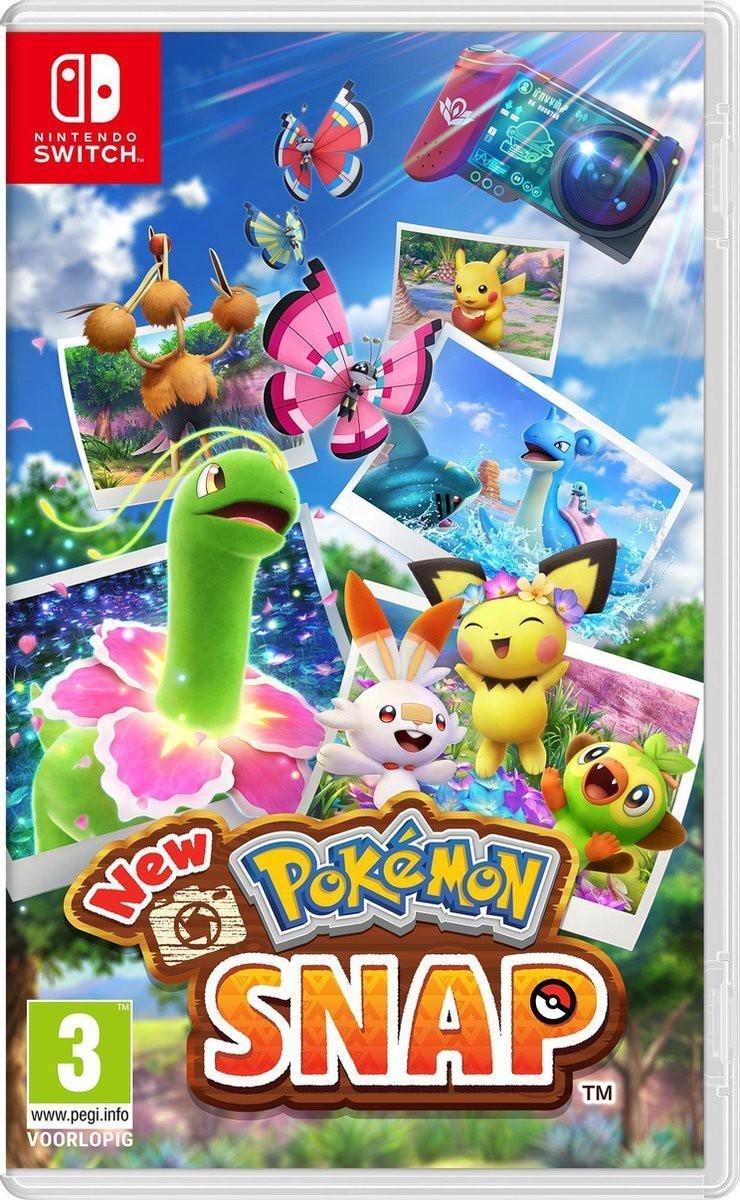 New Pokémon Snap - Switch op De Prijzenvolger