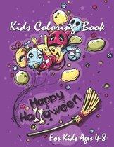 Happy Halloween Kids Coloring Book