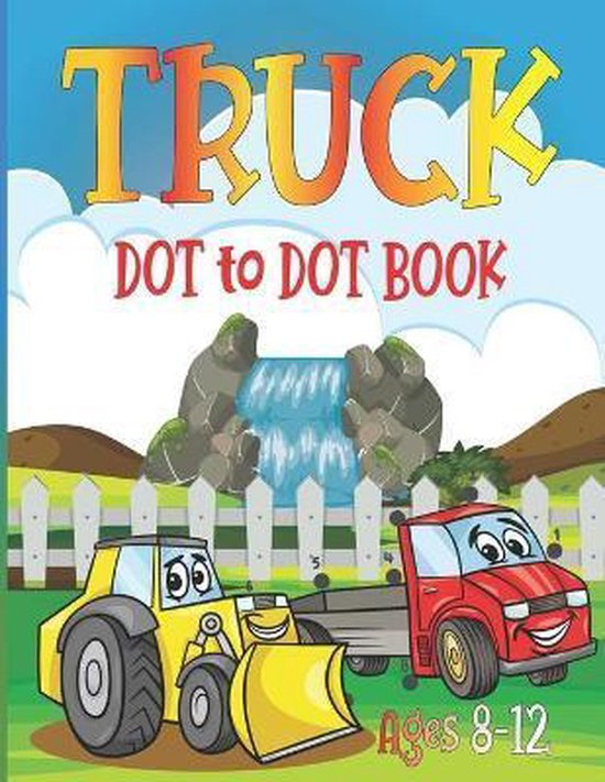 Truck Dot to Dot Book Ages 8-12