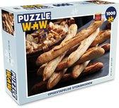 Puzzel 1000 stukjes volwassenen Stokbrood 1000 stukjes - Opgestapelde stokbroden  - PuzzleWow heeft +100000 puzzels