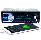 Bol.com-TechU™ Autoradio T08 met Afstandsbediening – 1 Din – Bluetooth – AUX – USB – SD – FM radio – RCA – Handsfree bellen – Kleurdisplay Variabel-aanbieding