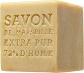 Marseille Zeep - blok 400 gr   terra   original - Savon de Marseille - 72% olie