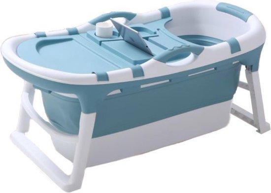 HelloBath® Opvouwbaar Kinderbad - Zitbad - Babybad - Peuterbad - Bath Bucket - 121cm - Model Benjamin