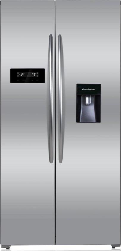 Amerikaanse koelkast: PKM SBS432 NFDWD IX Amerikaanse koelkast Nofrost, van het merk PKM