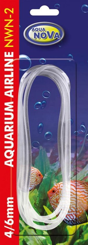 Aqua Nova - Aquarium luchtslang - 4/6 mm - 200 cm