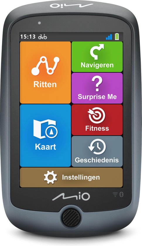 Mio Cyclo Discover Connect - GPS Fietsnavigatie - Europa 38 landen - Wi-Fi - Bluetooth - 3.5 inch - touchscreen