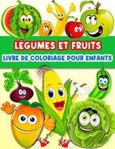 Livre De Coloriage Fruits Et Legumes Pour Enfants