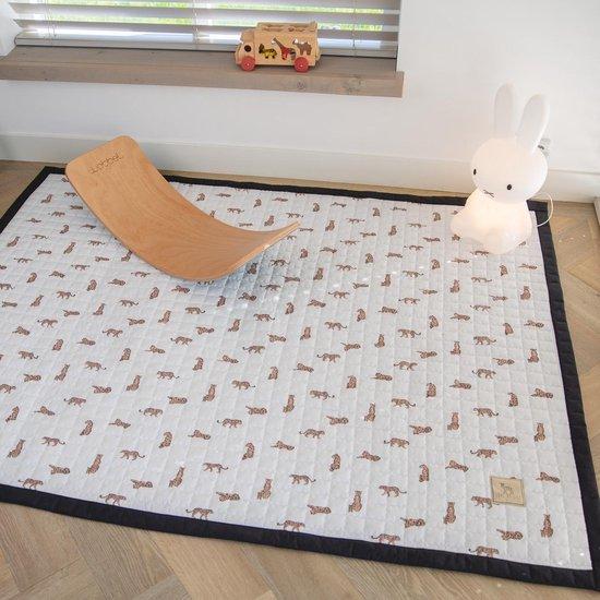 Love by Lily - groot speelkleed baby - Leopardy - 200x150 - speelmat binnen en buiten - speelmat baby