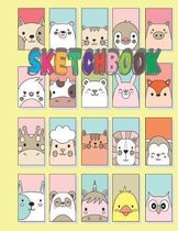 Sketchbook: Children Sketch Book for Drawing Practice, Art Activity Book for Creative Kids of All Ages