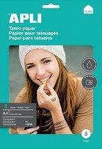 Afbeelding van Apli Tattoo transfer papier speelgoed