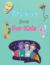 Activity Book For Kids: Amazing Activity Book for Kids 8-12