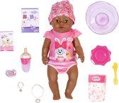 BABY born Magic Girl Brown Eyes - Babypop 43 cm