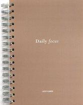 Daily Focus Planner - Dagplanner papier - Focus & productiviteit - To do lijst