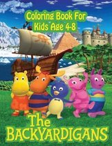 Backyardigans Coloring Book for kids Age 4-8