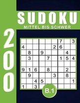 Sudoku Erwachsene Mittel Bis Schwer Band 1