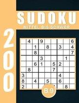 Sudoku Erwachsene Mittel Bis Schwer Band 9