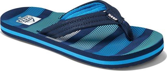 Reef Slippers - Maat 33/34 - Unisex - donkerblauw/blauw