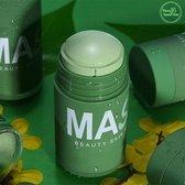 Your Beauty Tree ® Groene Thee Detox Masker  Stick - Green Mask Stick - Huidverzorging - Gezichtsmasker - Natuurlijke producten - verzorgend - verkoelend - hydraterend - black head verwijderen - mee-eters - verzachtend