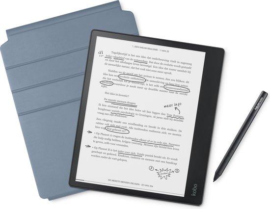 Kobo Elipsa Pack - 10,3 inch scherm - 32 GB - Blauw