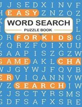 Easy Word Search Puzzle Book for Kids