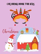 Coloring Book for Kids: Merry Christmas