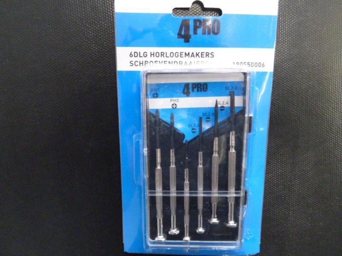 Horlogemakers set 6-dlg - 4Pro