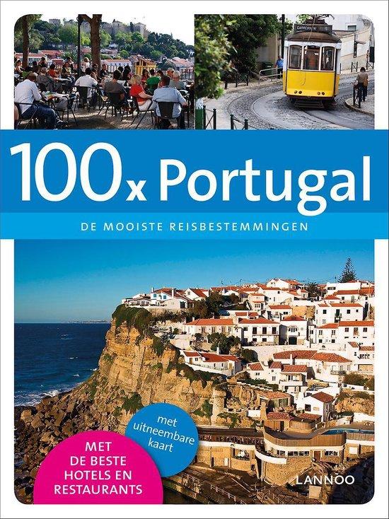 Cover van het boek '100x  / Portugal + Uitneembare kaart' van Joris Verbeure