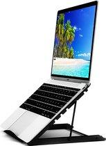 BECIO Universele Ergonomische Laptop Standaard - 10 tot 17 inch - Verstelbaar en Opvouwbaar Tablethouder en Laptopstandaard
