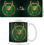 Marvel Loki Horns Icon Mok