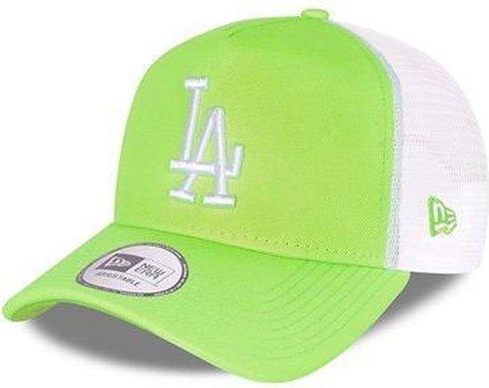 New Era LA Dodgers Tonal Mesh Green A-Frame Trucker Cap *limited edition