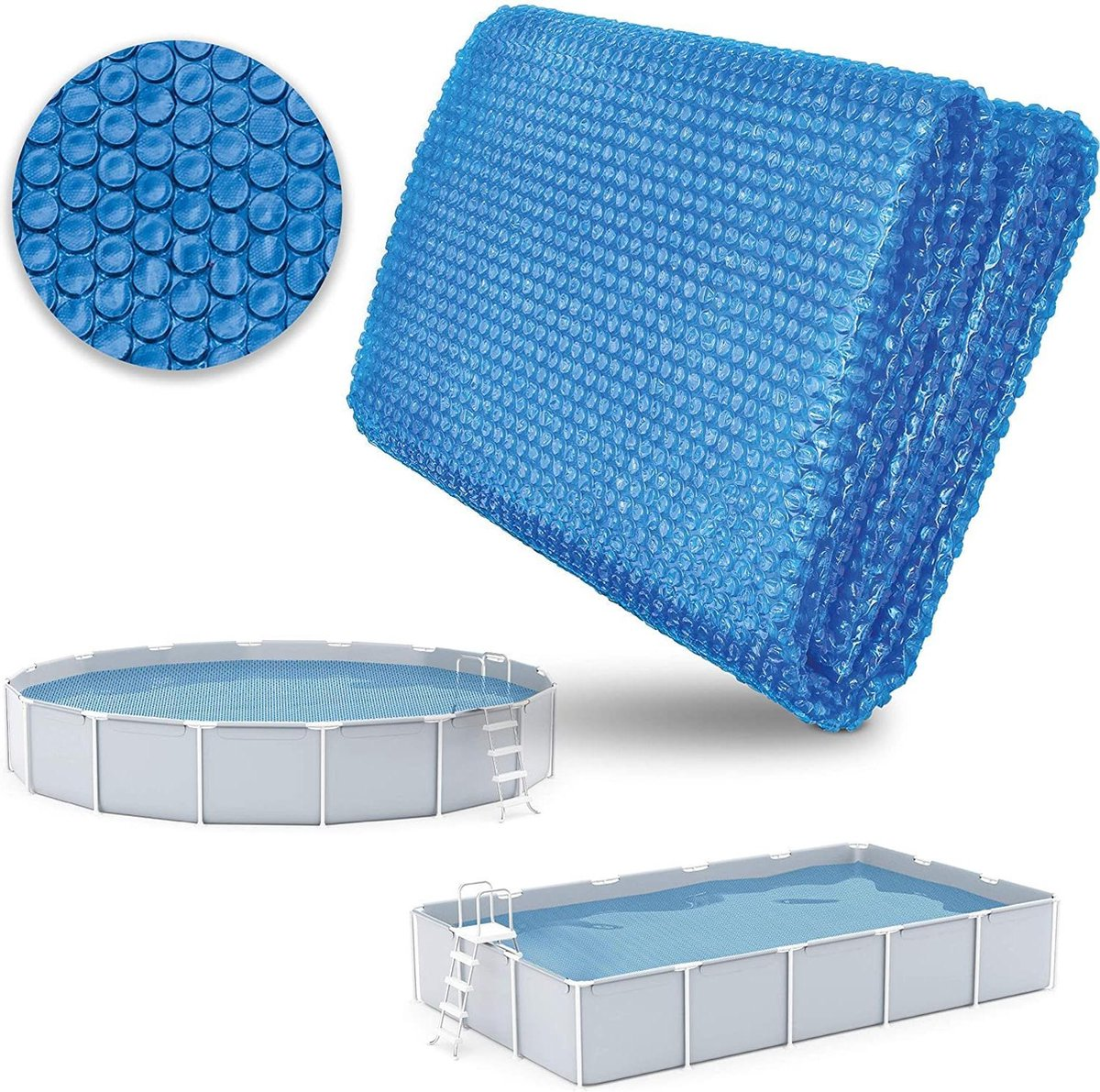 Sens Design Afdekzeil Zwembad - Zwembadzeil - solar - 800 x 500cm