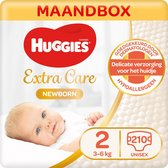 Huggies Newborn luiers - Maat 2 - (3 tot 6 kg) - 210 stuks - Voordeelbox