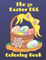 The 30 Easter Egg Coloring Book