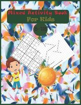 Mixed Activity Book For Kids 8-12