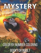 Mystery Color By Number Coloring Book For Adult