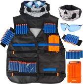 VAIVE Tactical vest geschikt voor Nerf - Zwart