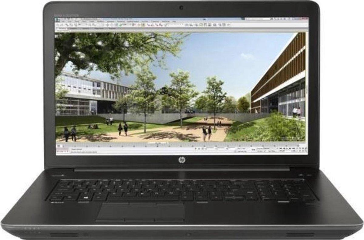 """HP ZBook 17 G3 17,3"""" FullHD workstation laptop refurbished door PCkoophulp, Intel Core i7-6700HQ, 8GB, 240GB SSD, Nvidia Quadro M1000M 2GB, Windows 10 Pro"""