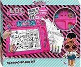 LOL Surprise tekenbord roze - Maak de mooiste tekeningen - 40 x 32 cm - Vakantie tip
