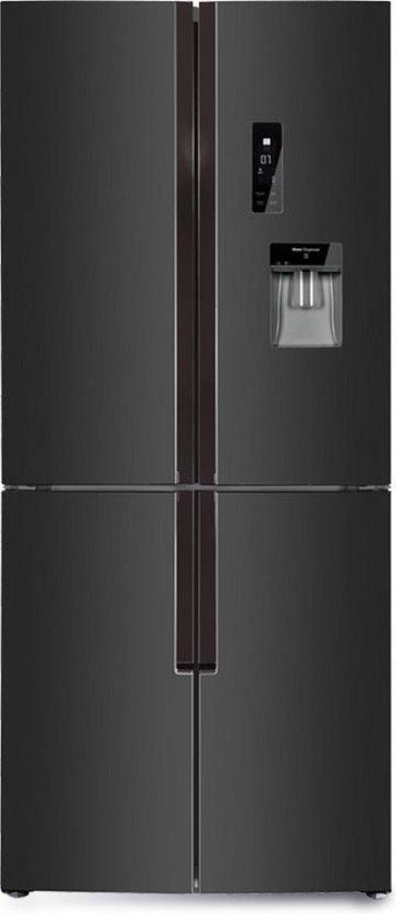 Amerikaanse koelkast: CHiQ FCD418NE4D - Multidoor koelkast met inverter - No Frost - 420L - Waterdispenser, van het merk chiq
