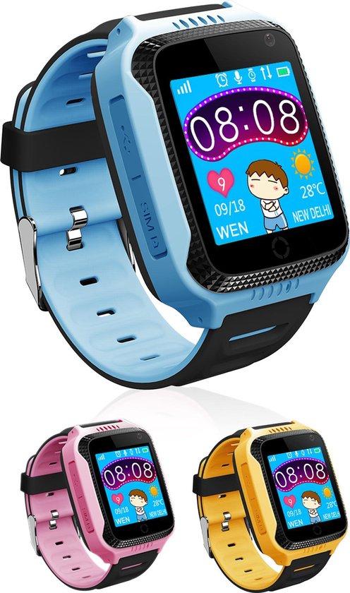 Loayz G900A Smartwatch met GPS en Camera functie- Blauw