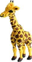 Balody Giraffe Nanoblocks - bouwset / 3D puzzel - 1350 bouwsteentjes