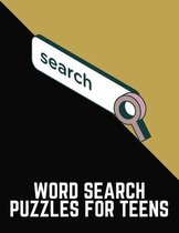 Word Search Puzzles For Teens
