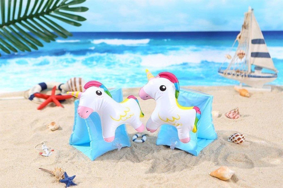 Nieuwste 3D Zwembandjes - Unicorn - Baby - 1 Jaar - 2 Jaar - 3 Jaar - Jongens en Meisjes - Zwemvleugels