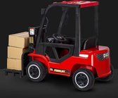Elektrische kinderauto - Vork Heftruck Rood - 12V met afstandsbediening