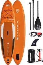 """Aqua Marina - Fusion - 10'10"""" - Opblaasbare supboard - 15PSI - Allround - Beginner - Suppen"""