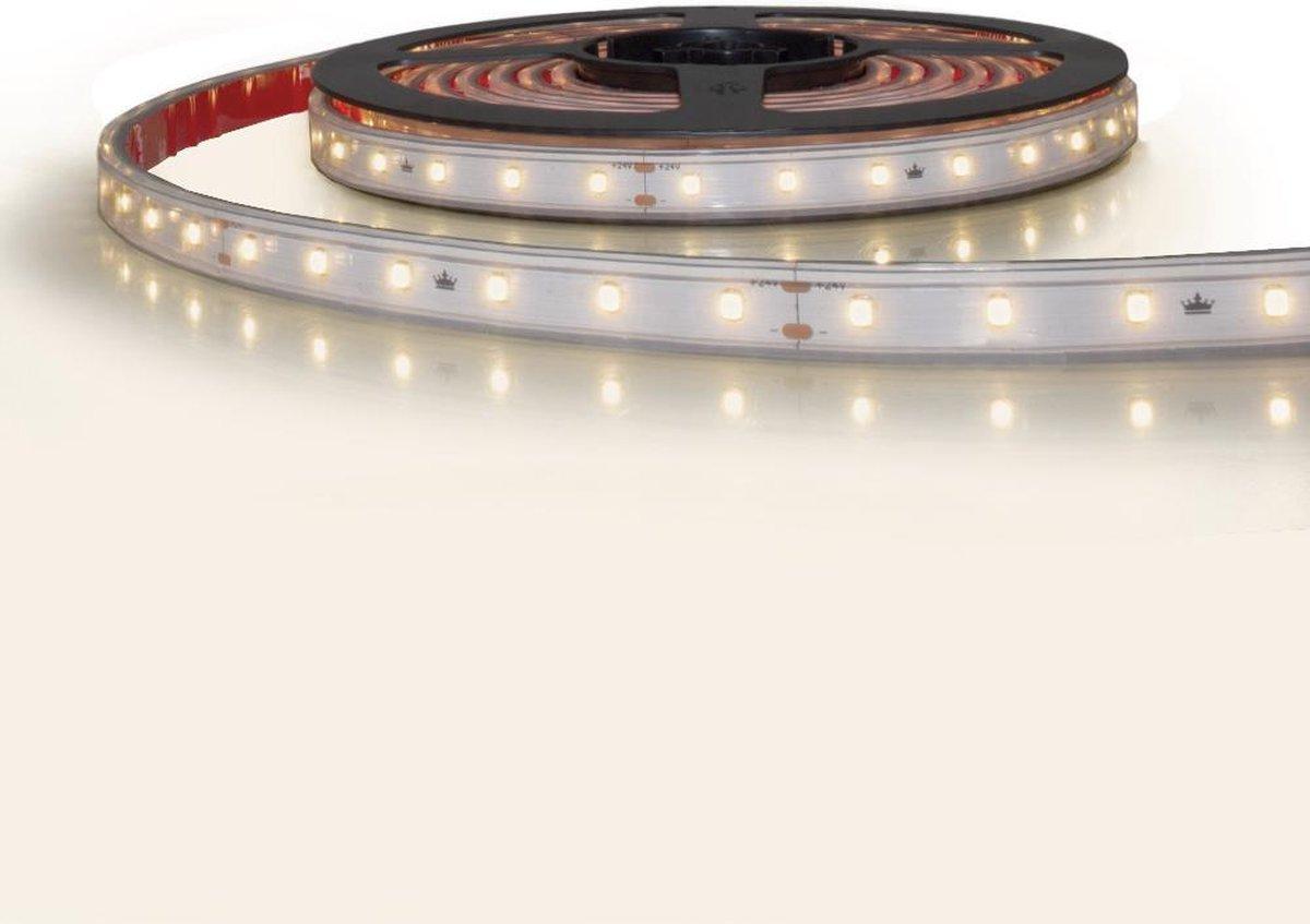 10 meter led strip constant current helder wit waterdicht - 4000 Kelvin - 600 leds 24V