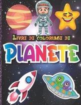 Livre de coloriage de Planete