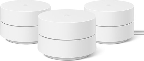 Google WiFi - Multiroom WiFi - Mesh - Dual-Band - 3 pack
