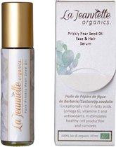LaJeannette organics. cactusvijg zaadolie - serum - gezichtsverzorging - 10ml - roller - luxe - puur - 100% natuurlijk - biologisch - anti aging - prickly pear seed oil - cactusvijgolie